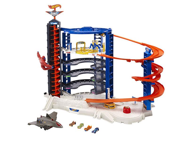 Автотрек Mattel Hot Wheels Невообразимая Башня FML03