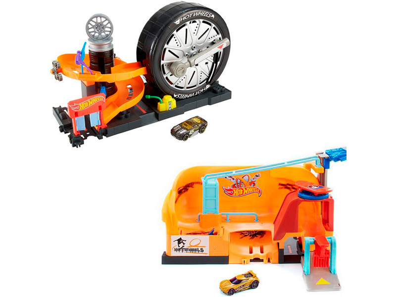 Автотрек Mattel Hot Wheels Сити FNB15 ()