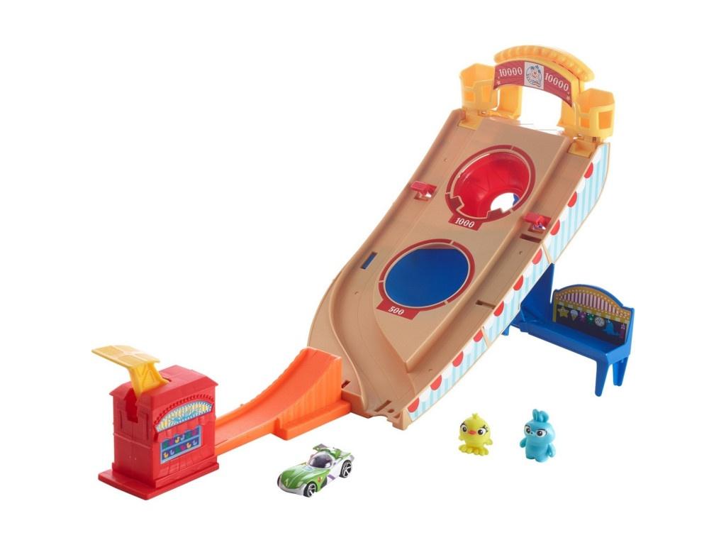 Автотрек Mattel Hot Wheels История игрушек 4 GCP24