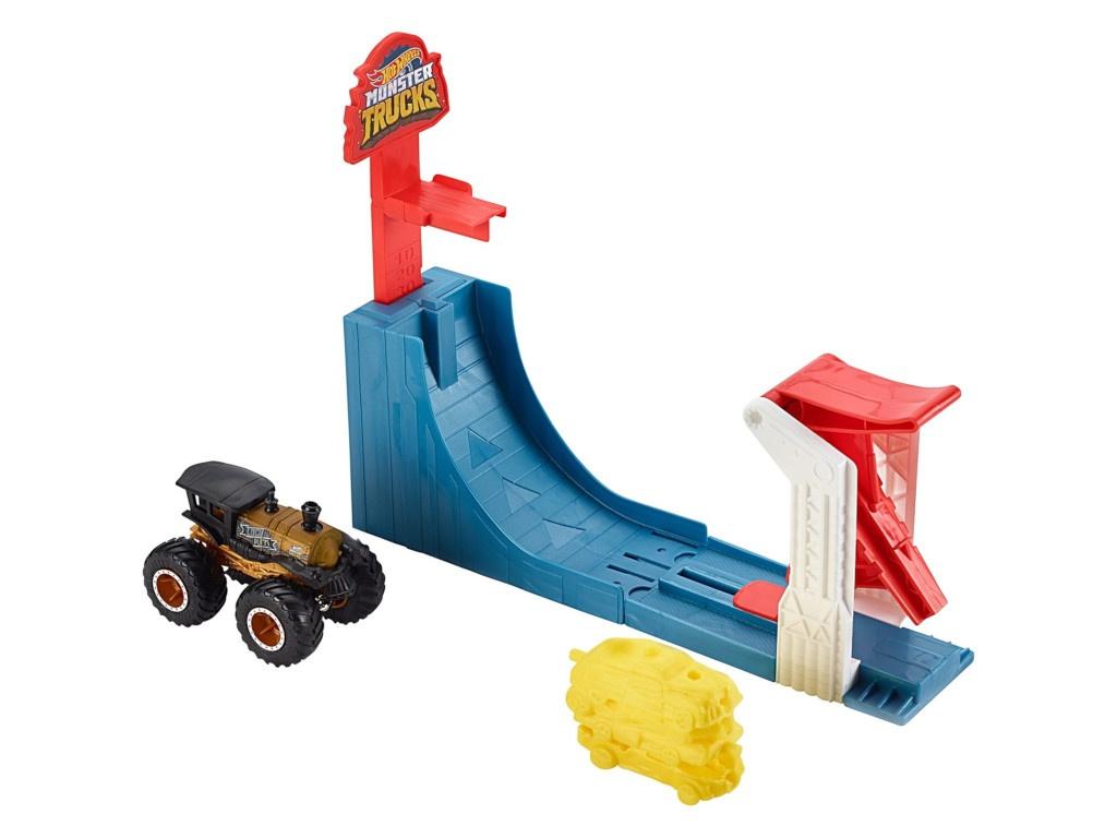 Автотрек Mattel Hot Wheels Монстр трак Поединок в воздухе GCG00 все цены