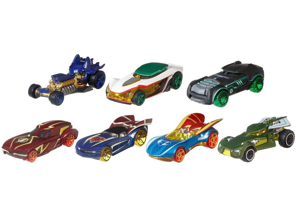 Игрушка Mattel Hot Wheels DC Comics Человек из стали DKJ66