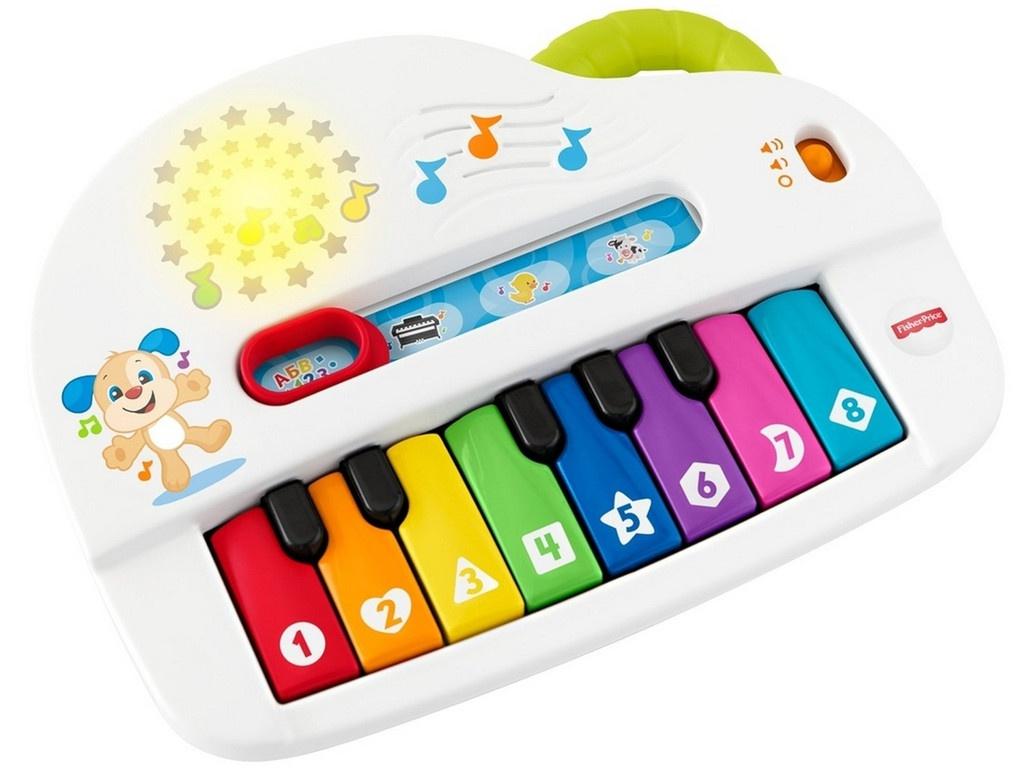 Детский музыкальный инструмент Mattel Fisher-price Музыкальное Пианино GFK10