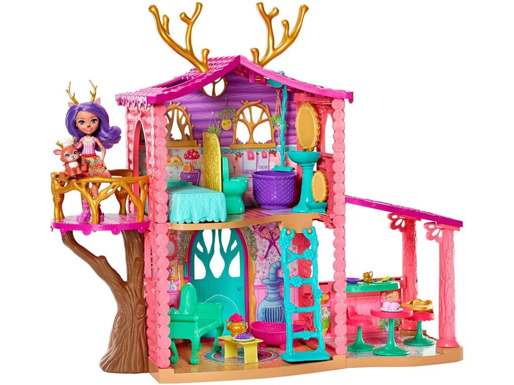 Кукольный домик Mattel Enchantimals Данессы Оленни FRH50