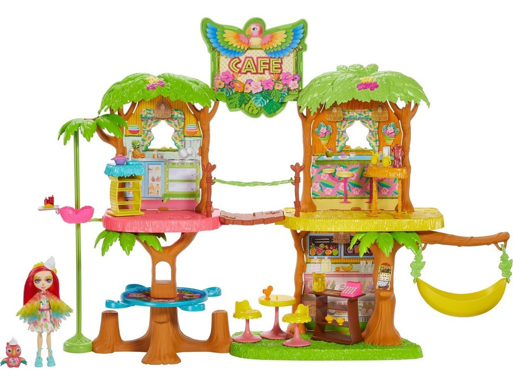Игровой набор Mattel Enchantimals Джунгли-кафе GNC57