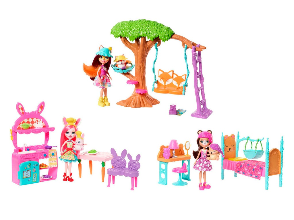 Игровой набор Mattel Enchantimals Сюжетный FRH44 ()