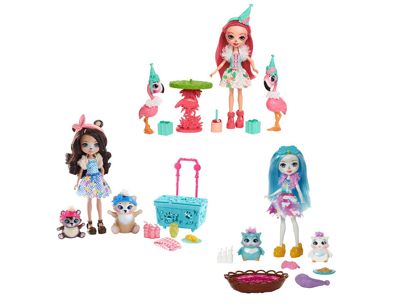 Кукла Mattel Enchantimals FCC62 ()