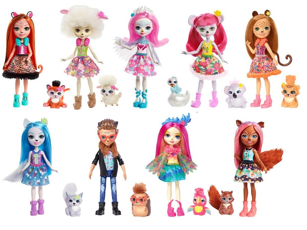 Кукла Mattel Enchantimals FNH22 ()