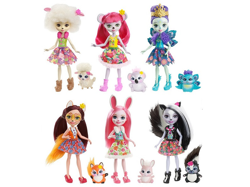 Кукла Mattel Enchantimals DVH87 ()