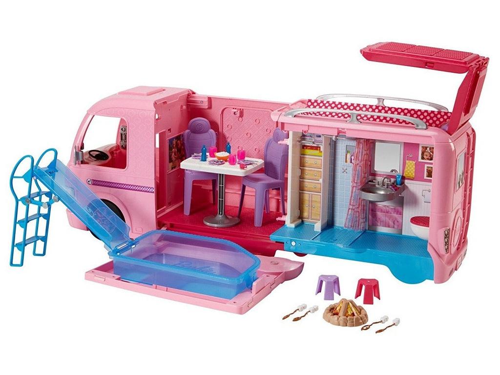 Игрушка Mattel Barbie Волшебный раскладной фургон FBR34