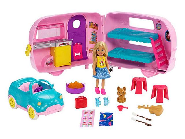 Кукла Mattel Barbie Фургон Челси FXG90