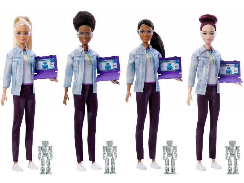 Кукла Mattel Barbie Робототехник FRM08