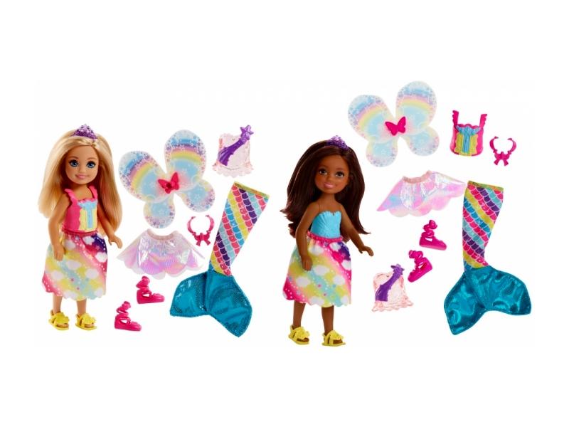 Кукла Mattel Barbie Челси фея русалка FJC99 ()