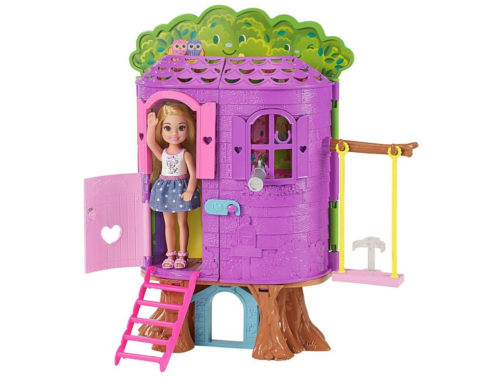 Кукла Mattel Barbie Домик на дереве Челси FPF83