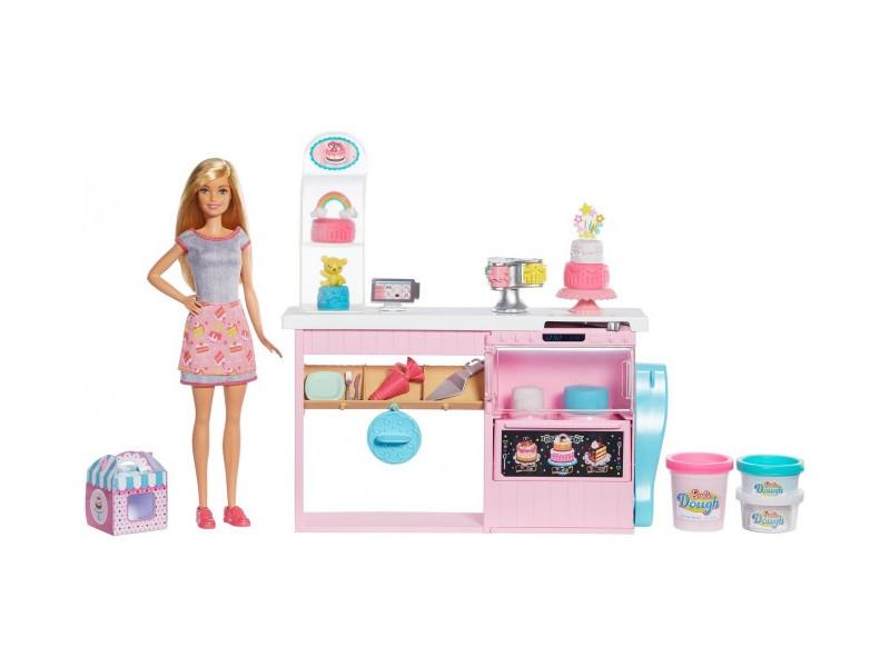 Кукла Mattel Barbie Кондитерский магазин GFP59