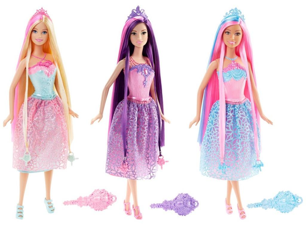 Кукла Mattel Barbie Принцессы с длинными волосами DKB56 () fever sienna wig blonde candy парик с длинными волосами