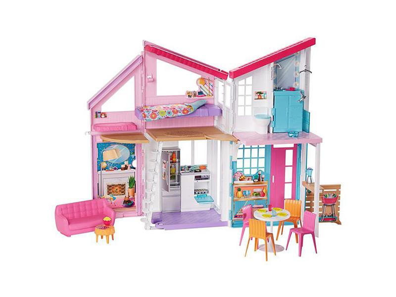 Кукольный домик Mattel Barbie Новый Дом в Малибу FXG57