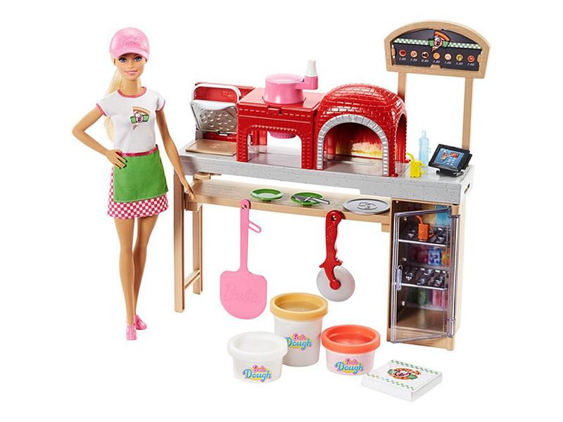 Кукла Mattel Barbie Пицца шеф FHR09