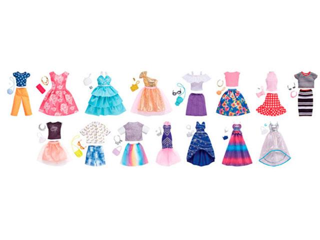 Одежда для куклы Mattel Barbie Дневной и вечерний наряд в комплекте FND47