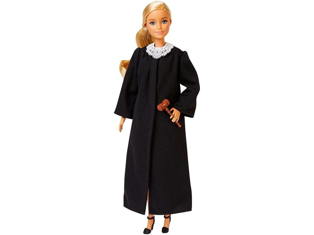 Кукла Mattel Barbie Судья блондинка FXP42