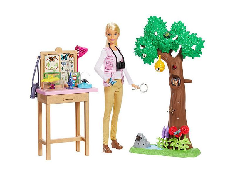 Кукла Mattel Barbie Nat Geo Исследователь бабочек GDM49