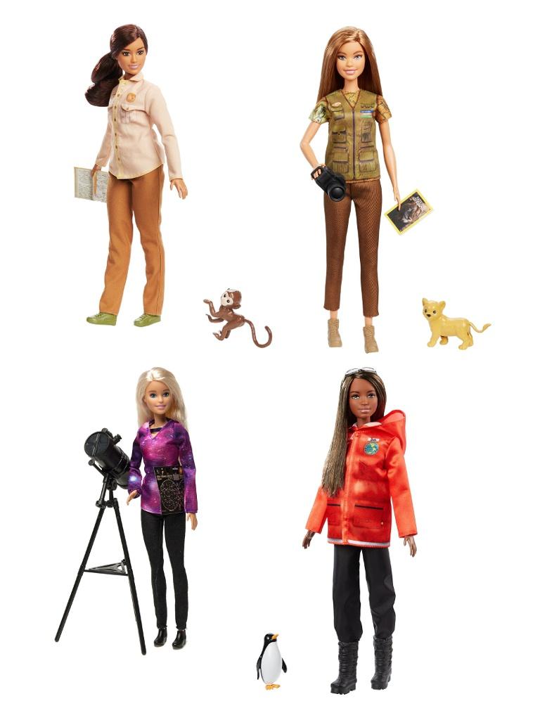 Кукла Mattel Barbie Nat Geo Исследователь GDM44 ()