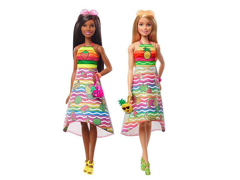 Кукла Mattel Barbie x Crayola Фруктовый сюрприз GBK17