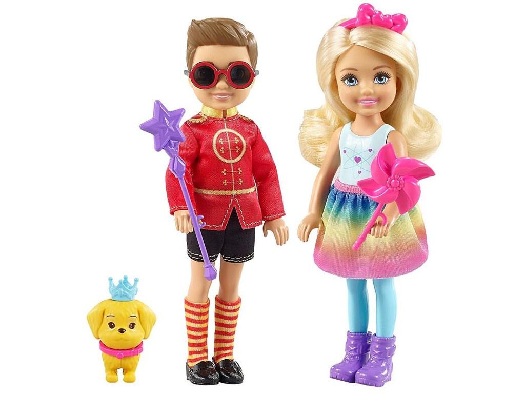 Кукла Mattel Barbie Челси и Нотто FRB14