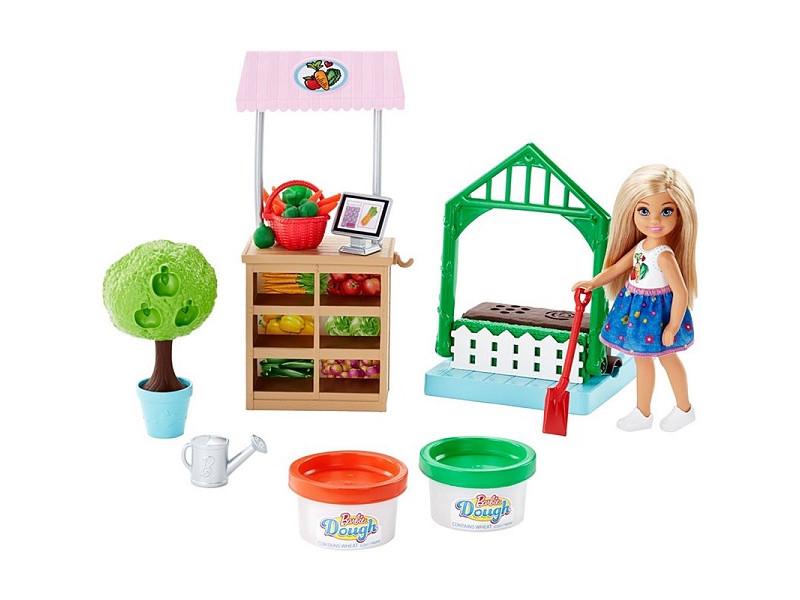 Кукла Mattel Barbie Овощной сад Челси FRH75