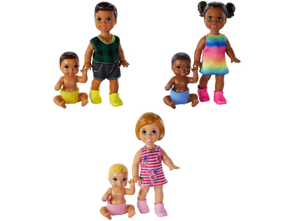 Кукла Mattel Barbie Братья и сестры GFL30