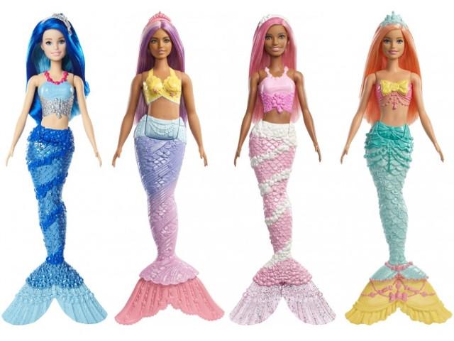 Кукла Mattel Barbie Волшебные русалочки FXT08 ()