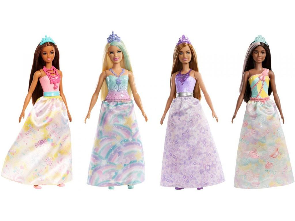 Кукла Mattel Barbie Волшебные принцессы FXT13
