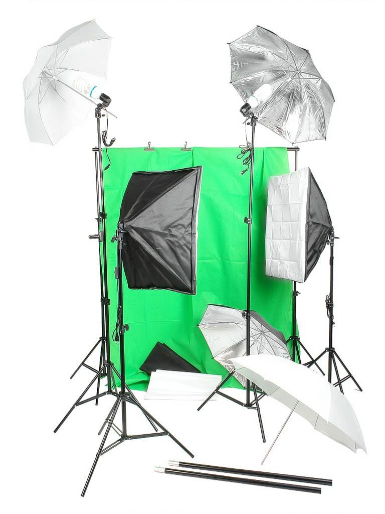 купить Комплект студийного света Falcon Eyes KeyLight 4150 SBU Kit 26192 по цене 12899 рублей
