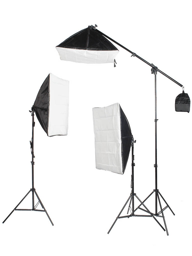 лучшая цена Комплект студийного света Falcon Eyes KeyLight 3150 SB5070 Kit 26191
