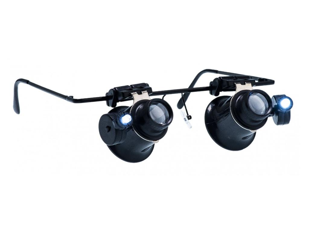 Лупа-очки Zhengte MG9892A-II 20x
