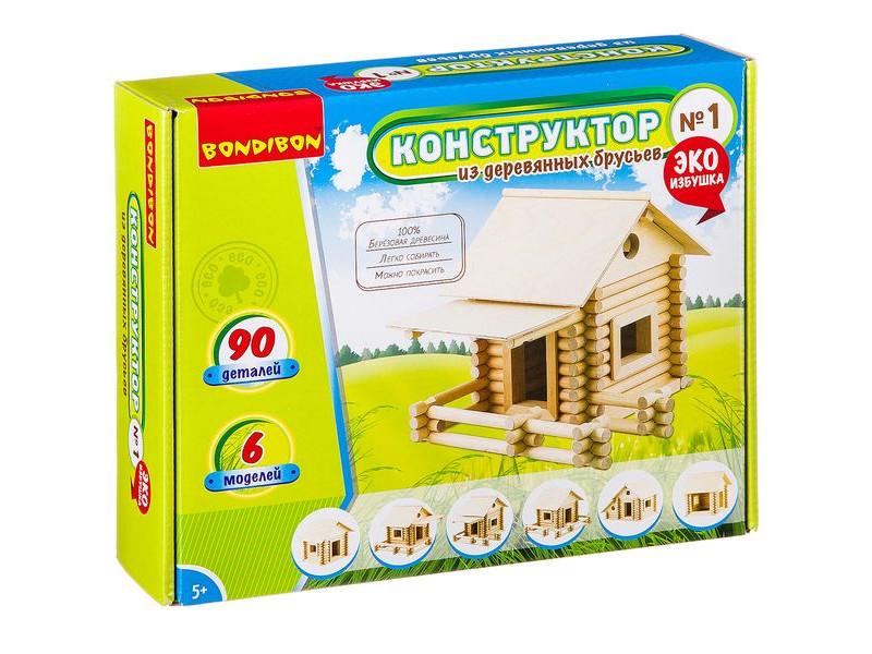 Конструктор Bondibon №1 90 дет. ВВ2601