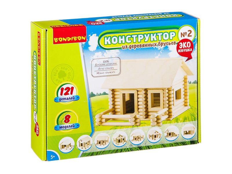 Конструктор Bondibon №2 121 дет. ВВ2602