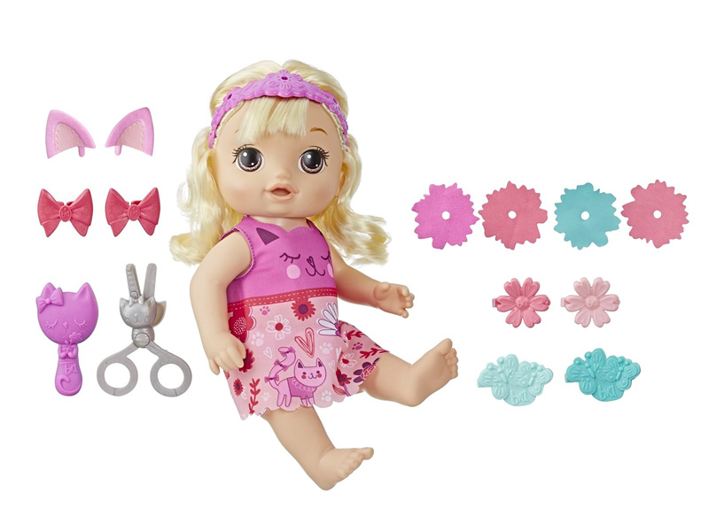Игрушка Hasbro Baby Alive Малышка у парикмахера Блондинка E5241RS0