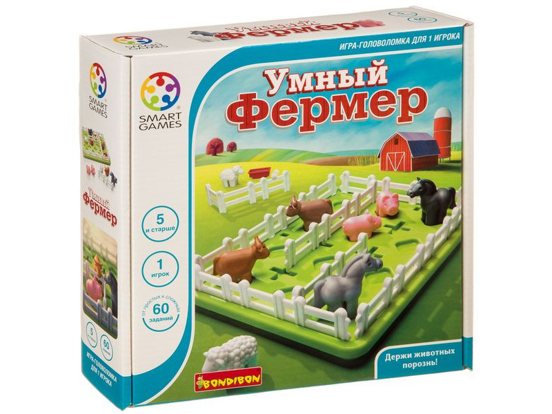 цена на Головоломка Bondibon Умный фермер ВВ3797