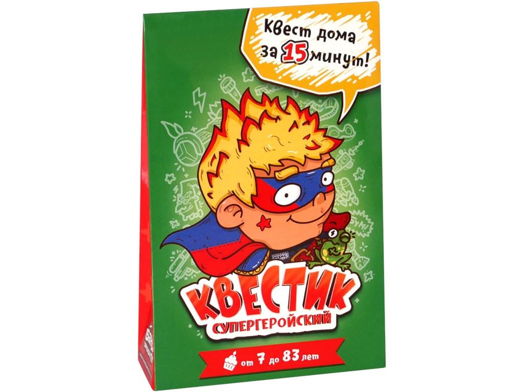 Настольная игра Банда Умников Квестик Супергеройский Макс