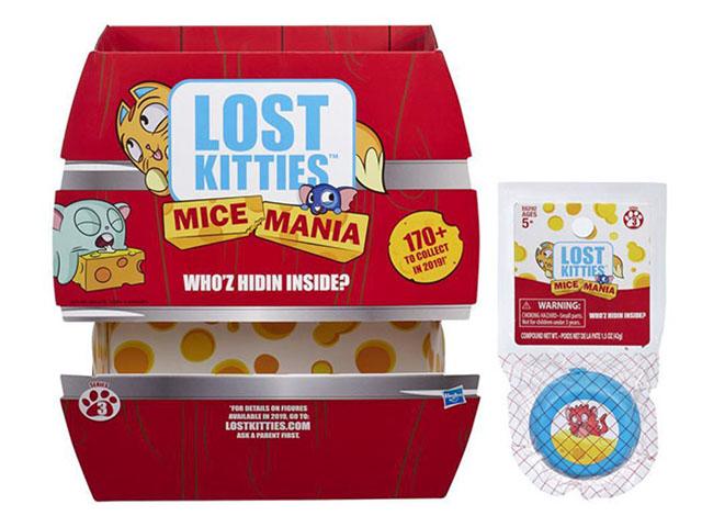 Игрушка Hasbro Lost Kitties Мышка-малышка E6292EU2