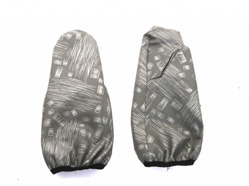 Варежки Duck Утепленные р-р 2 Grey 555-100П