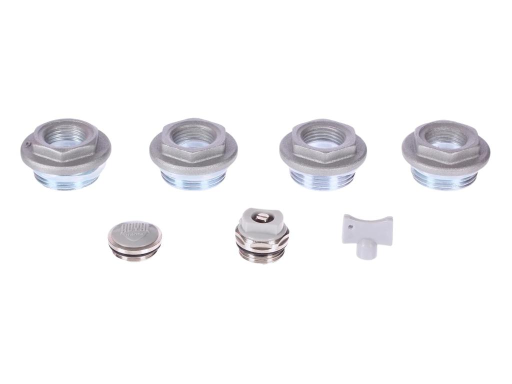 Набор присоединительный Royal Thermo 1/2 Silver НС-1156712