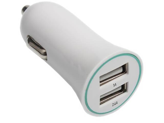Зарядное устройство Exployd Classic 3.4A 2хUSB White EX-Z-414