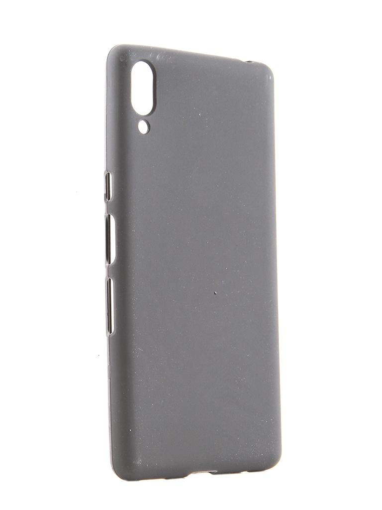 Аксессуар Чехол Svekla для Sony Xperia L3 Silicone Black SV-SOXPL3-MBL