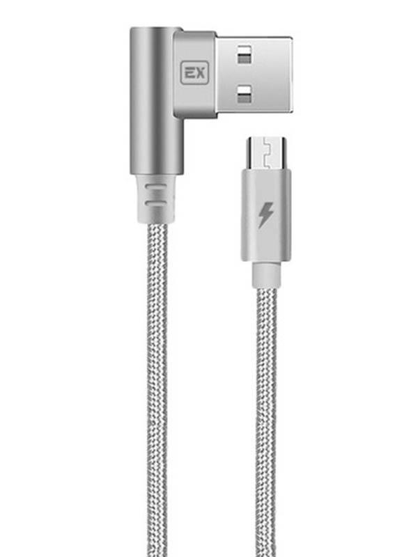 Аксессуар Exployd USB - microUSB Classic 1m Grey EX-K-511 аксессуар hoco u40bm usb microusb magnetic adsorption grey