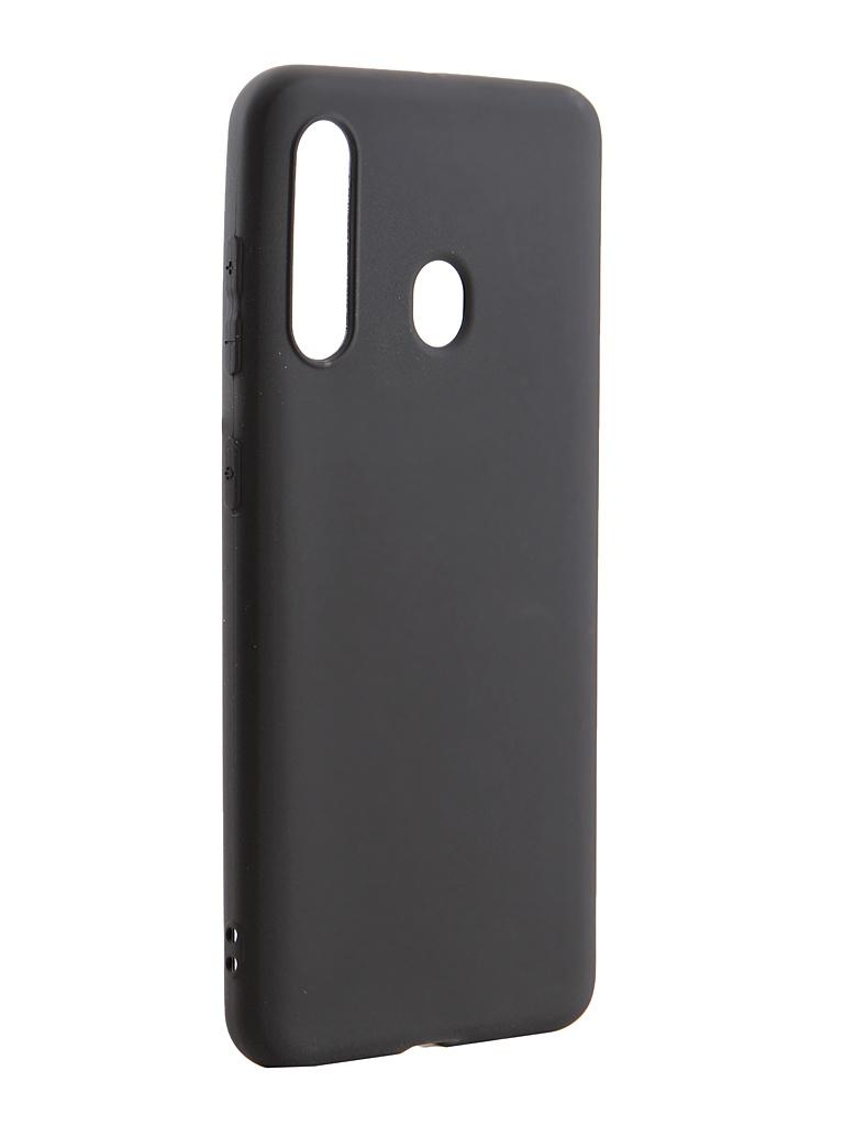 Чехол Svekla для Samsung Galaxy A60 A605F Silicone Black SV-SGA605FD-MBL