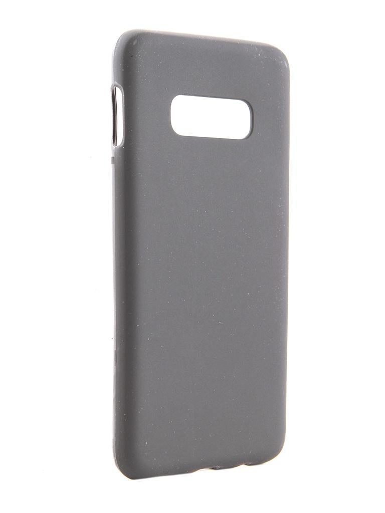 Чехол Svekla для Samsung Galaxy S10 Lite Silicone Black SV-SGS10L-MBL