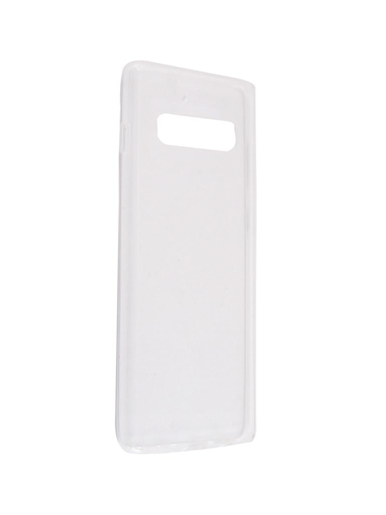 Чехол Svekla для Samsung Galaxy S10 Plus Silicone Transparent SV-SGS10PL-WH