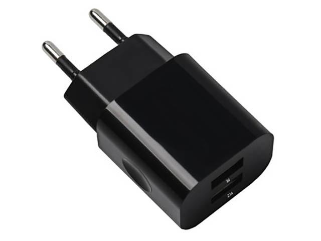 Зарядное устройство Exployd Classic 3.1A 2хUSB Black EX-Z-456