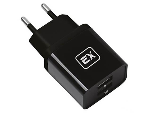 Зарядное устройство Exployd Classic 3.1A 2хUSB Black EX-Z-610